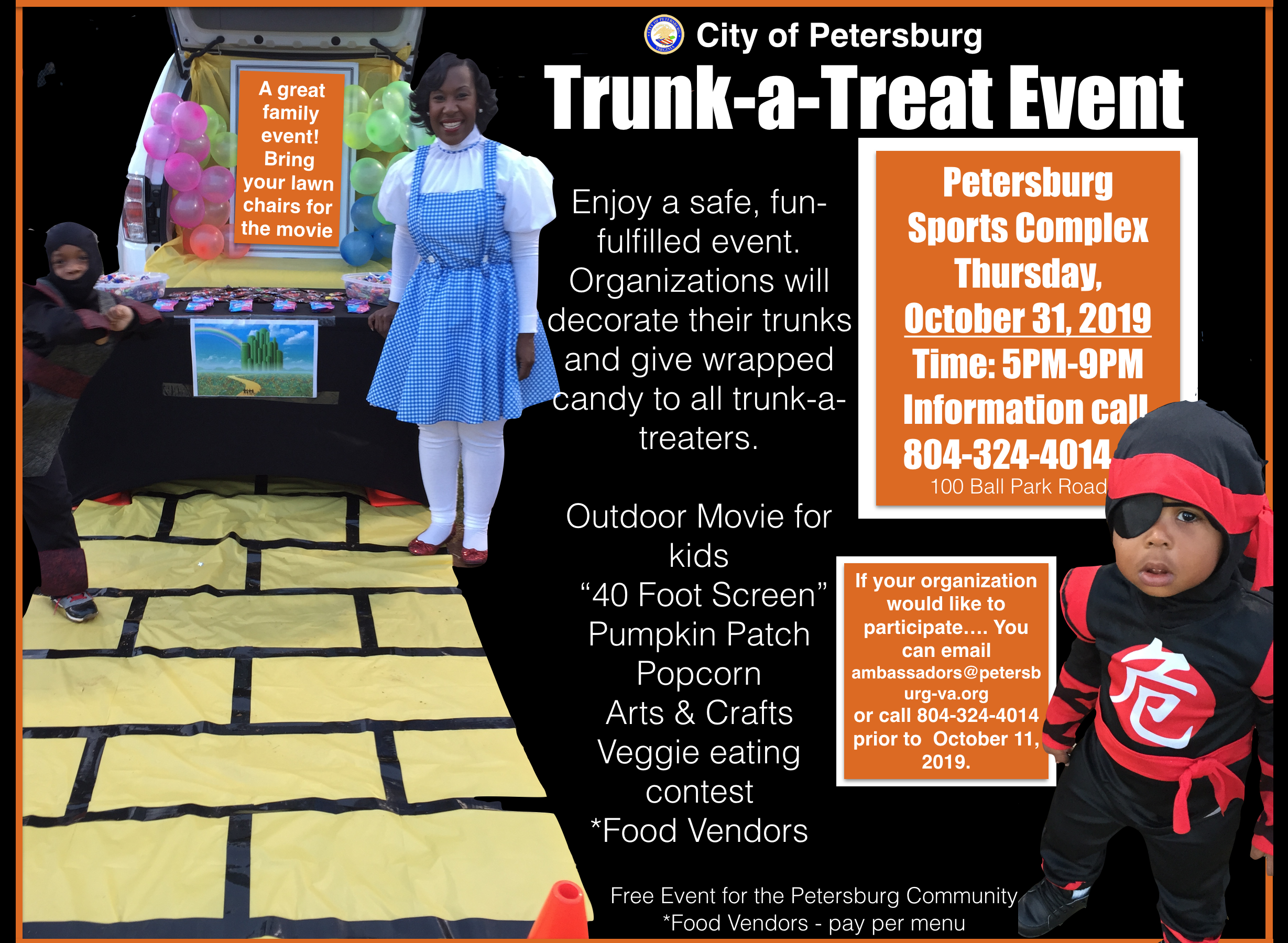 2019 City of Petersburg Trunk-A-Treat